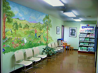 Newington Veterinary Clinic Waiting Room