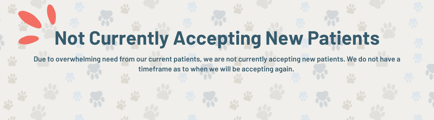 Not Accepting New Patients